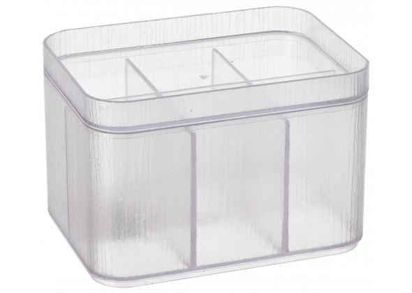 """Contenitore portaoggetti in plastica """"Ops""""-cm. 15 x 11 x h. cm. 10"""